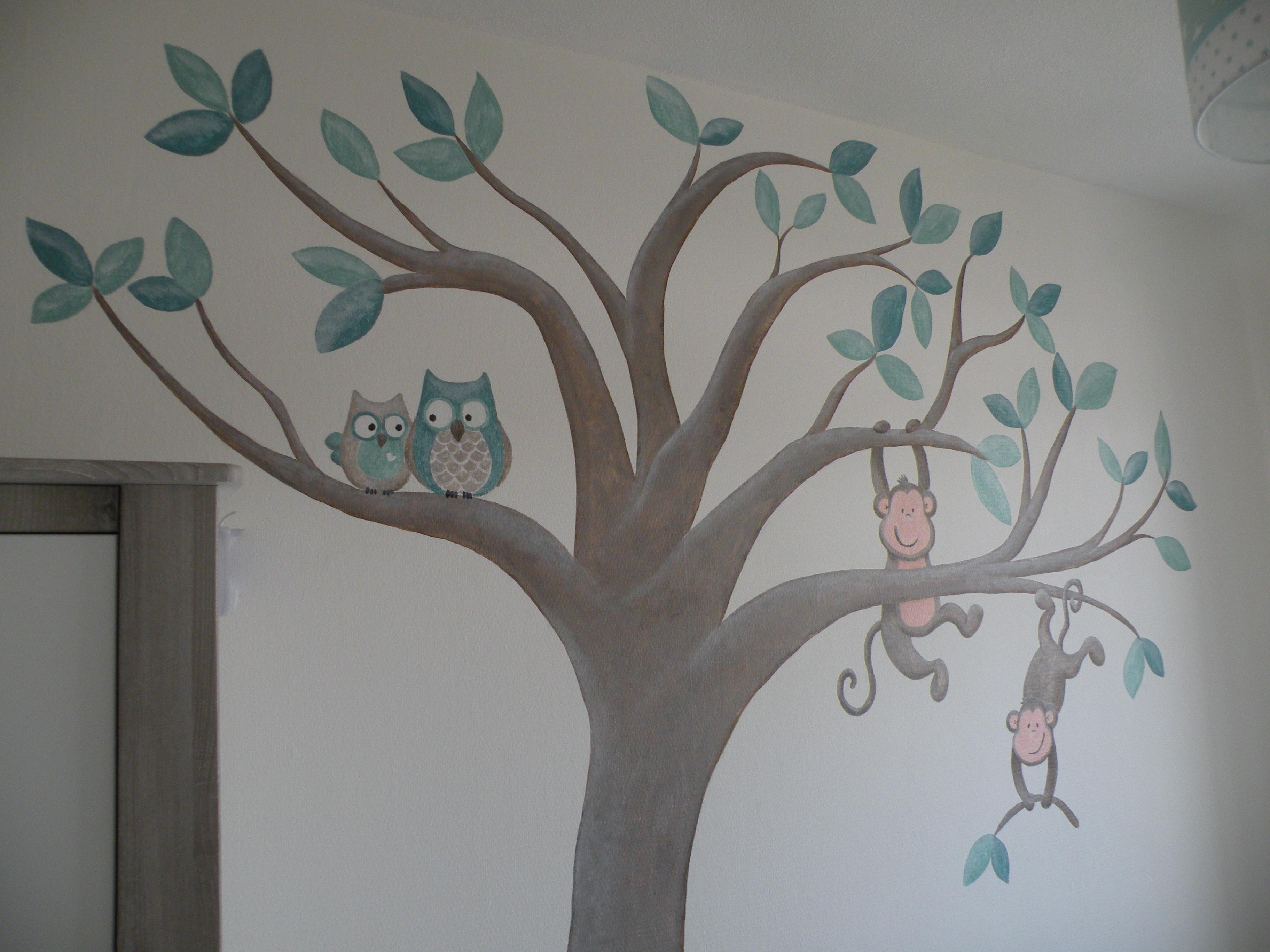 Slaapkamer ontwerp muurdecoratie - Schilderij kamer ontwerp ...