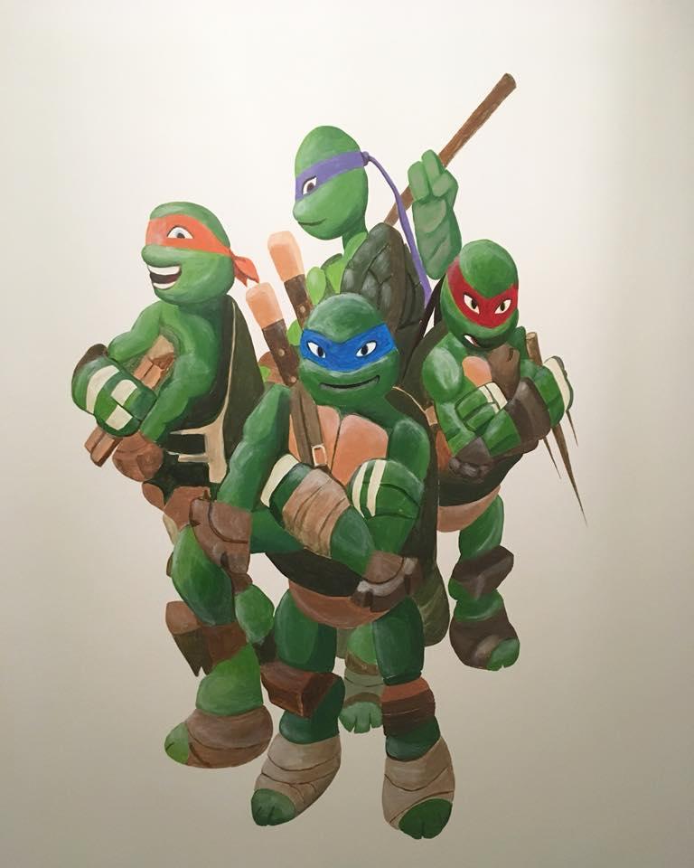 Ninja Turtles Slaapkamer.Ninja Turtles Bam Crea